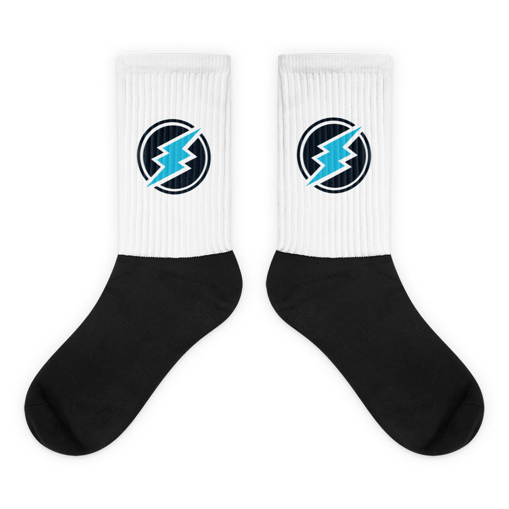 Electroneum Cryptocurrency Logo, Socks