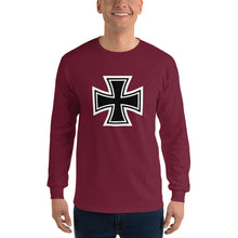 Load image into Gallery viewer, Maltese Cross, Men's Long Sleeve T-Shirt