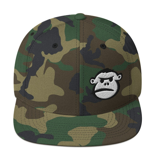 Angry Monkey Face  Snapback Hat