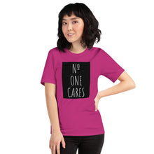 Load image into Gallery viewer, Number One Cares, Women's Short-Sleeve T-Shirt