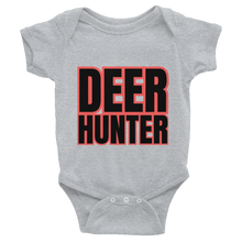Load image into Gallery viewer, Deer Hunter Text, Baby Infant Bodysuit