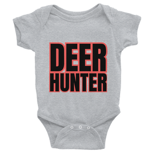 Deer Hunter Text, Baby Infant Bodysuit