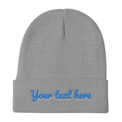 Design Your Own Embroidered Beanie Style 2