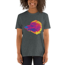 Load image into Gallery viewer, Betta Fighting Fish Atomic, Short-Sleeve Unisex T-Shirt