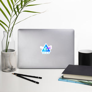 Beam Cryptocurrency Logo, Bubble-free Die Cut Bumper Sticker
