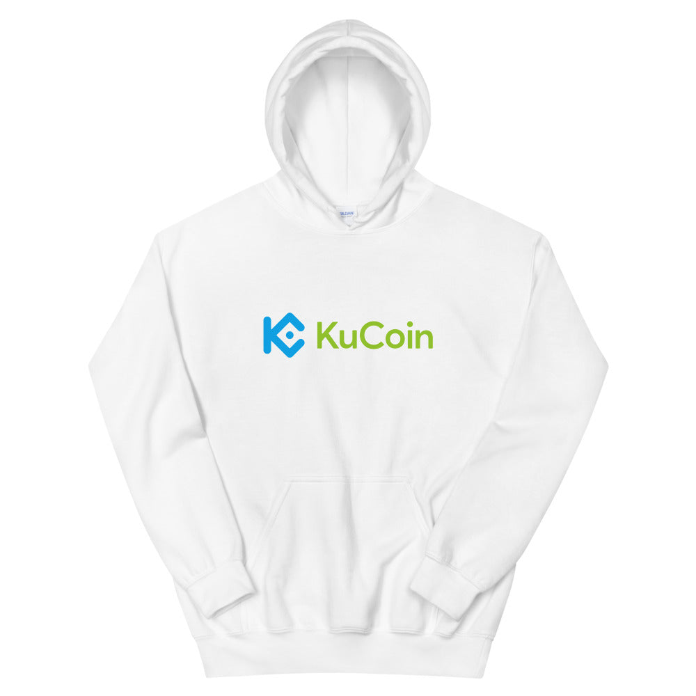 KuCoin Cryptocurrency Exchange Logo, Unisex Hoodie