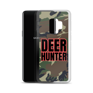 Deer Hunter Text, Samsung Galaxy S8-S10+ Case