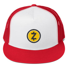 Load image into Gallery viewer, Zcash ZEC Cryptocurrency Logo Gold, Classic Trucker Cap
