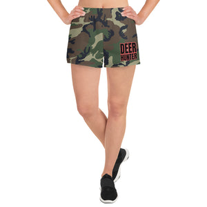 womens camo athletic shorts