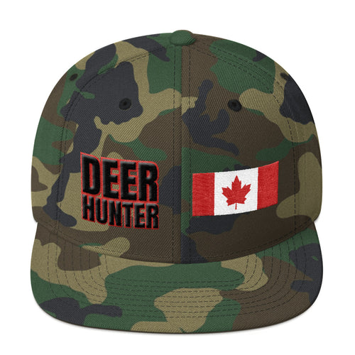 deer hunter snapback hat usa flag