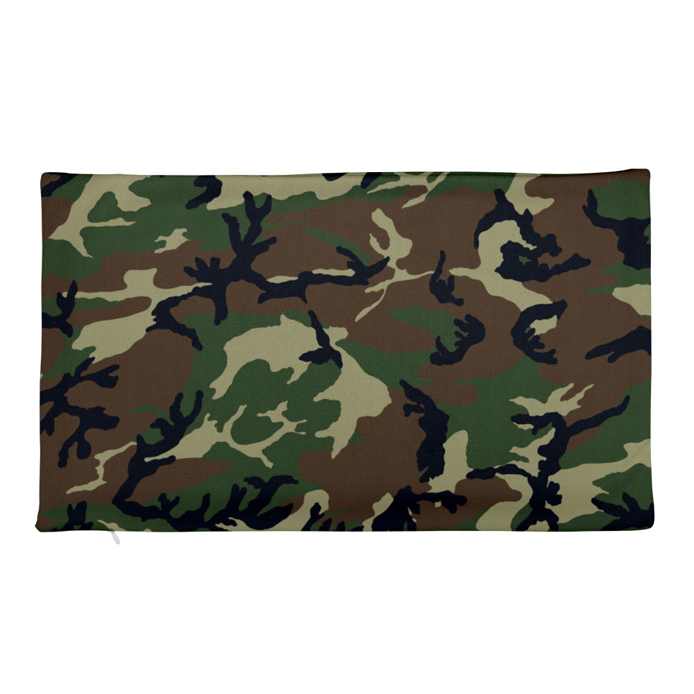 Camouflage Pattern Print Premium Pillow Case