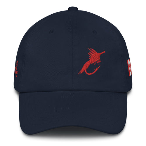 Fly Fishing Canada Cap, Premium Dad hat