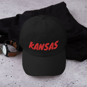 Kansas Text Red, Dad hat