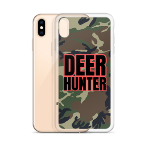Deer Hunter Text, iPhone 6-XS/max Case