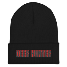 Load image into Gallery viewer, deer hunter outdoors activity beanie black