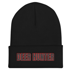 deer hunter outdoors activity beanie black