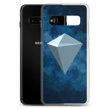 Load image into Gallery viewer, KuCoin Shares KCS Logo Symbol, Samsung Galaxy Case Blue