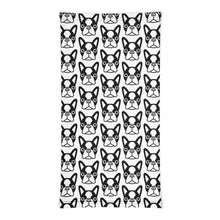 Load image into Gallery viewer, French Bulldog Face, Neck Gaiter Face Mask Motorcycle Tube