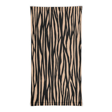 Load image into Gallery viewer, Zebra Pattern Khaki, Neck Gaiter Motorcycle Tube