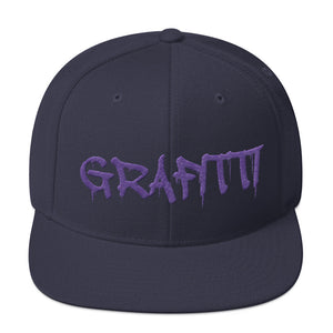Grafitti Text, Snapback Hat