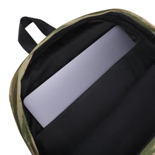 Load image into Gallery viewer, Black USA Flag, Backpack Green Camo