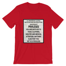 Load image into Gallery viewer, Alcatraz Prison Regulation Nr 5, Short-Sleeve Unisex T-Shirt