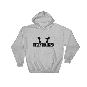 Decentralized Freedom, Unisex Hooded Sweatshirt