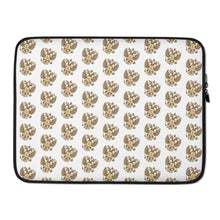 Load image into Gallery viewer, Goat Of Arms Russia, Laptop Sleeve White