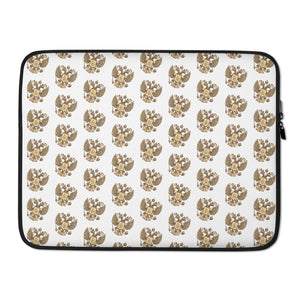 Goat Of Arms Russia, Laptop Sleeve White