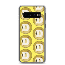 Load image into Gallery viewer, Doge coin Logo Pattern, Samsung Galaxy S8-10+ Case