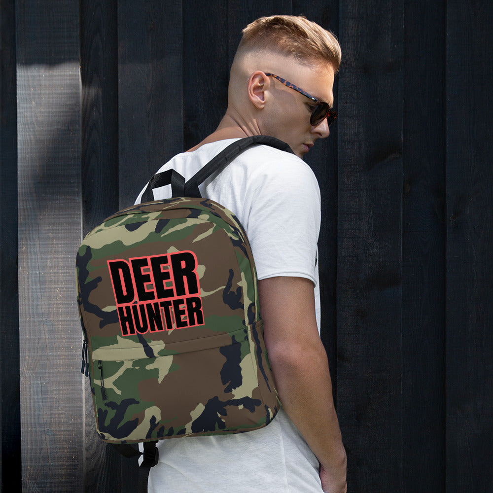 deer hunter camo backpack