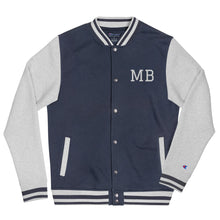 Load image into Gallery viewer, Design Your Own Initials or Text Men's Embroidered Champion Bomber Jacket