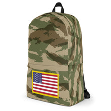 Load image into Gallery viewer, USA Flag, Backpack Green Camo