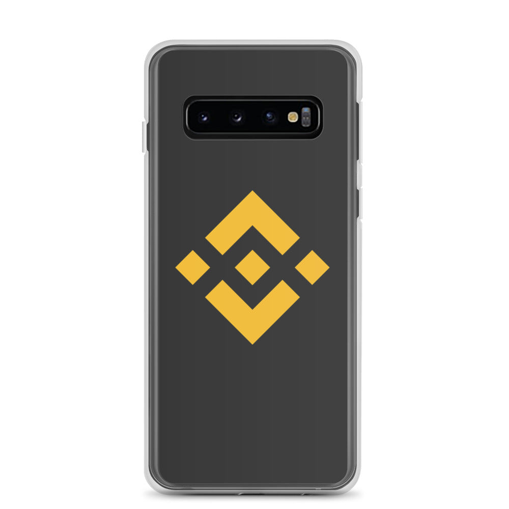 Binance BNB Coin Logo, Samsung Galaxy S8-10+ Case