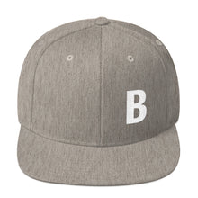 Load image into Gallery viewer, Alphabet Letter B, Snapback Hat