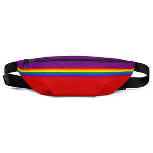 Pride Rainbow Flag Colors 2, Fanny Pack