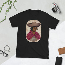 Load image into Gallery viewer, Quechua Indian Woman, Women's Short-Sleeve T-Shirt