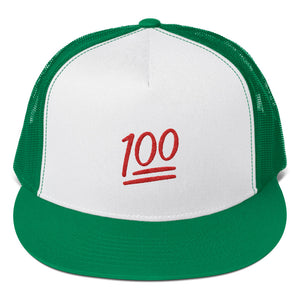 One Hundred Emoji, Classic Trucker Cap