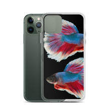 Load image into Gallery viewer, Betta Splendens Fighting Fish iPhone Case