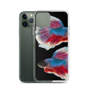 Betta Splendens Fighting Fish iPhone Case