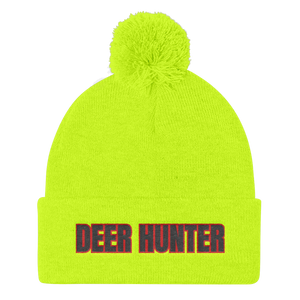 Deer Hunter, Pom Pom Knit Cap