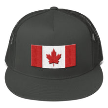 Load image into Gallery viewer, Canada Flag 3D Puff, Classic Trucker Cap