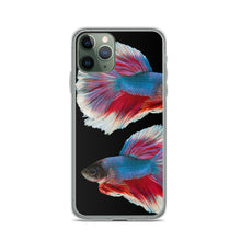 Load image into Gallery viewer, Colorful betta fish iphone case