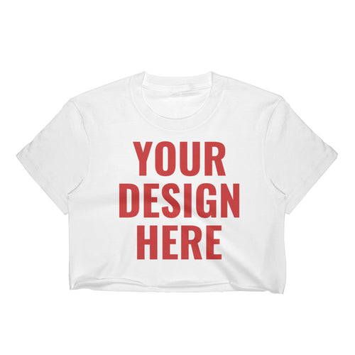 Design Your Own, Women's Crop Top