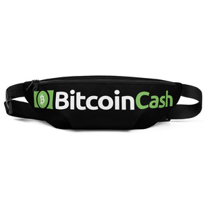Bitcoin Cash Cryptocurrency Logo, Fanny Pack