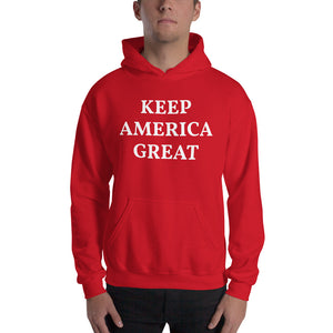 Keep America Great Men's Hoodie Red