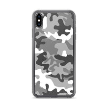 Load image into Gallery viewer, Camouflage Pattern Gray Print, iPhone 6-XS/max Case