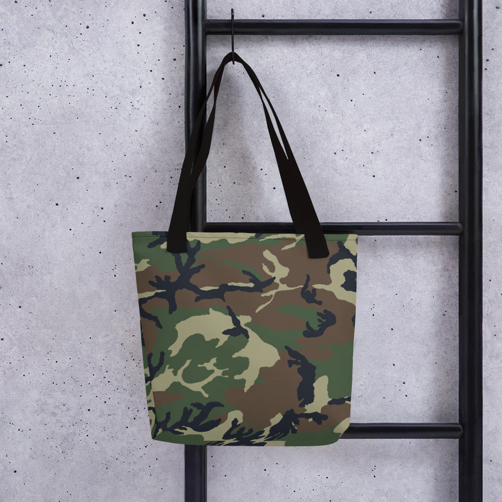 Camouflage Pattern Print, Tote Bag