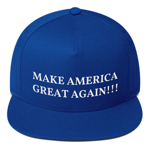 Design Your Own MAGA Style, Flat Bill Snapback Hat