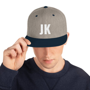 Design your Own Initials Alphabet Letters, Snapback Hat